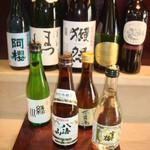 葉ら - 冷酒・いもいも・焼酎・ワイン・色々あります。これからの季節はひれ酒も良いですね。因みにひれは、ご注文が来てから炙るから香ばしさが出て美味しい^。^