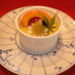 葉ら - 季節のデザート、自家製かぼちゃのプリン^。^