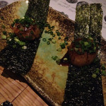 Nakamegurokakiiredoki - 帆立のバター醤油焼き
