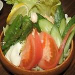 居酒屋 日乃本 - 野菜サラダ
