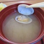 鯛喜 - あさりの味噌汁