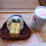 竹若 - うにぎり320円・関山生酒350円