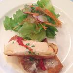 レストラン・オーベルジュ - 赤魚のソテー、シーフードパイ包み