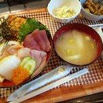 はなれんこん - 海鮮丼定食1