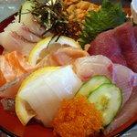 はなれんこん - 海鮮丼定食2