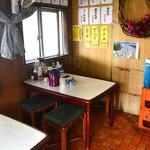 波止場食堂 - テーブル席のみ