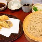 蕎麦わび介 - 料理写真:天せいろ牡丹
