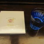 book and café gleam - メニューも絵本みたい^^