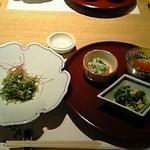 Sagami - 宮崎和牛ステーキコースの前菜