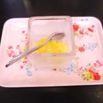 トゥレ・ドゥー - オレンジのアイス
