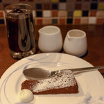 32215055 - ガトーショコラ アイスコーヒー