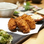 酒膳 蔵四季 - 牡蠣フライ