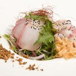 鮮魚の四川風カルパッチョ