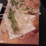 竹花 - (※手をつけてない状態の写真です)たらの芽の天ぷら