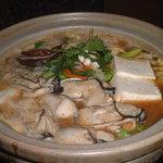 小粋 - かき鍋