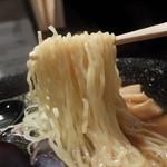 しじみらーめん  - 中細縮れ麺