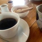 農園食堂 Aube - コーヒーも美味しかった。美味しいコーヒーが飲めるだけでも、かなり満足。