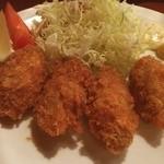 大かまど飯 寅福 - カキフライ定食