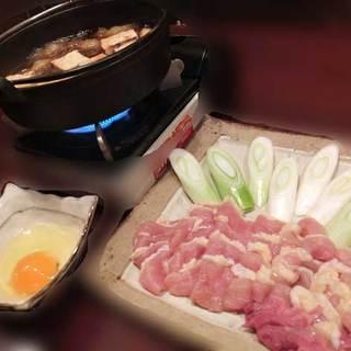 ◇鶏刺利・とりすき◇厳選地鶏を使った鶏料理をご賞味あれ