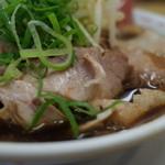 新福菜館 - 新福菜館 府立医大前店のチャーシューメンは、てんこ盛りチャーシューでした^^(14.11)