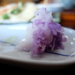 村屋東亭 - 紫色です