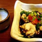 居酒屋 響 - 白子ポン酢を日本酒で…