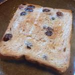 フラフィ - レーズン食パン(トースト)