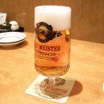 悠讃 - キリン ブラウマイスター(530円)