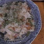 32245635 - 山菜ピラフ(真上)
