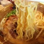 味噌乃家 - ちぢれ麺