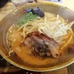 味噌乃家 - 味噌ラーメン(680円)
