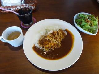 カフェノコナ - 「本日のカレー(チキンカレー)」980円