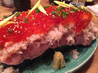 大衆割烹TAKEYA 川越店 - こぼれ寿司