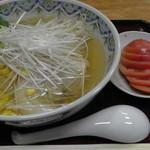 恋路茶屋 - H26.11.3 トマトラーメン(600円)