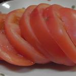 恋路茶屋 - 南郷トマトの輪切り