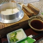 おむろ 松風 - 湯豆腐