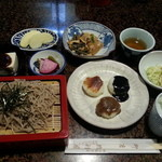 徳利屋郷土館 - 料理写真:五平餅定食 1730yen