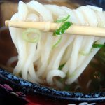 かすみ亭 - 細打ち麺