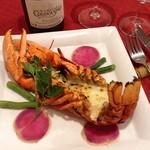 ワイン食堂 がっと - 丸ごとオマールエビのテルミドール