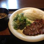 まーぼー - ランチ お肉が柔らかくて美味しい♩