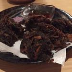 沖縄食堂 あかがわら でいご - 料理写真:もずくの天ぷら 新食感で美味しい!