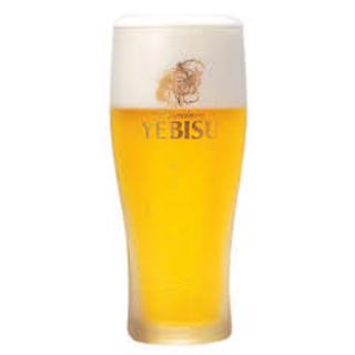 コースの飲み放題にエビスビール!