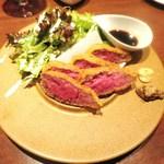 六本木 肉とワイン Uchibito - 牛かつ