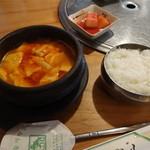 福亭 - スンドウフチゲ定食