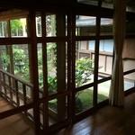 山荘無量塔 - 廊下