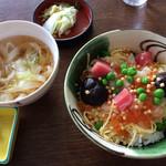 東山ガーデン - 海鮮丼、きしめん付き
