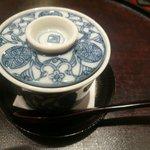 旬彩天 つちや - 料理写真:胡麻豆腐の葛餡かけ 菜の花添え
