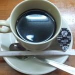大鵬 - 食後コーヒーきちんと油が浮いてます(笑)