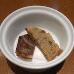 お野菜ダイニング ここから - ごぼうとくるみのパウンドケーキとかぼちゃと小豆のパウンドケーキ