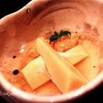 鮨 廣金 - 九州のタケノコとたらこの炊き合わせ